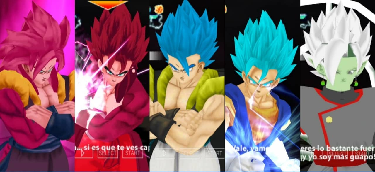 Super Dragon Ball Heroes All Forms and Transformations