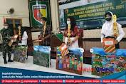 Sepuluh Pemenang Lomba Lukis Pelajar Kodim Jember Diberangkatkan ke Korem Malang