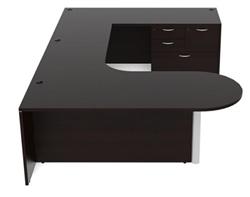 Amber U-Desk