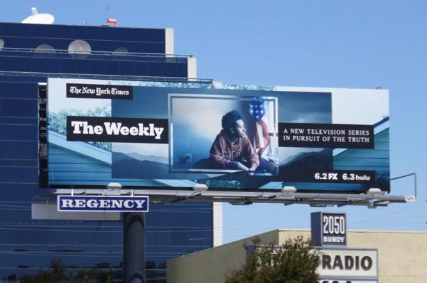 NYTimes Weekly billboard