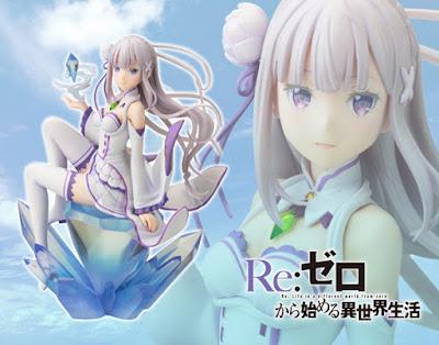 Kotobukiya ci propone Emilia tratta da Re: Zero kara Hajimeru Isekai Seikatsu