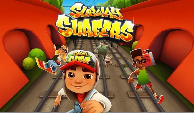 لعبة Subway Surfers الجديدة