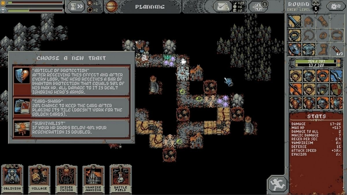 Loop Hero bosses walkthrough - how to defeat Lich