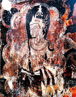 Ancient Buddha Mural Painting