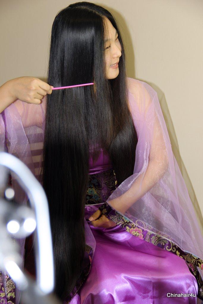 Mujeres pelo largo china
