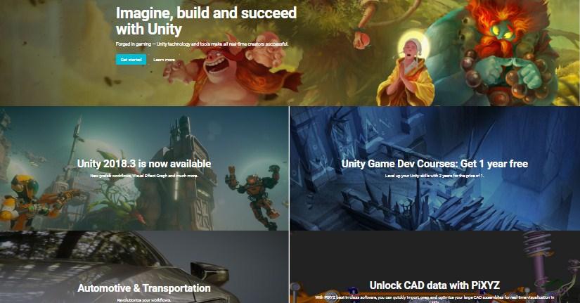 buat game dengan unity 3d