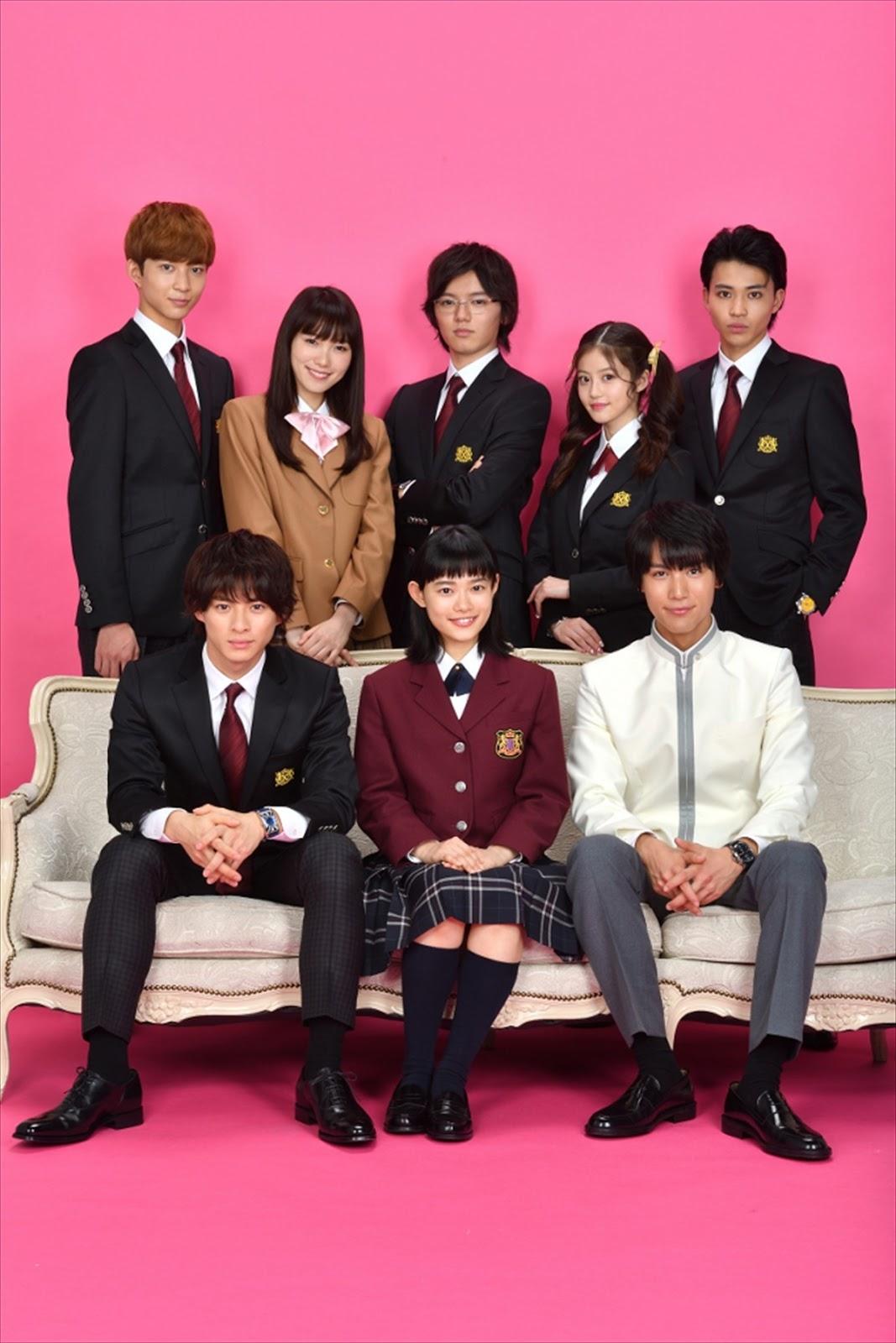 Hana Yori Dango - dorama da segunda temporada tem elenco da C5 anunciado