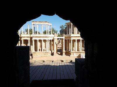 Teatro romano, algo que ver en un día en Mérida