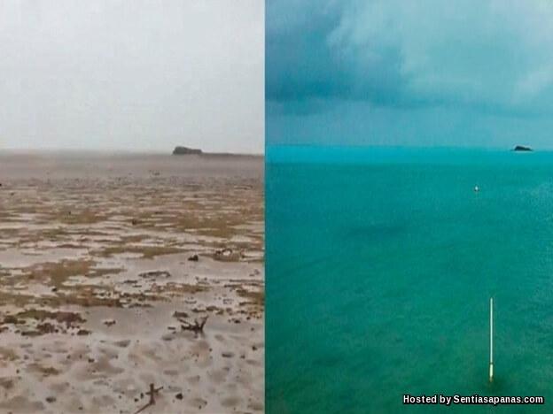 Laut Bahamas hilang