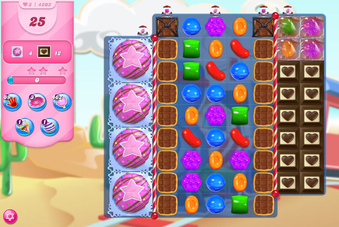 Candy Crush Saga level 4202