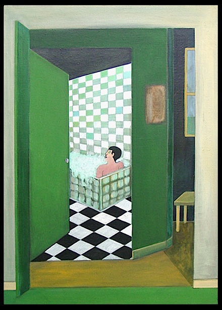 Bathroom par Claude Laurent
