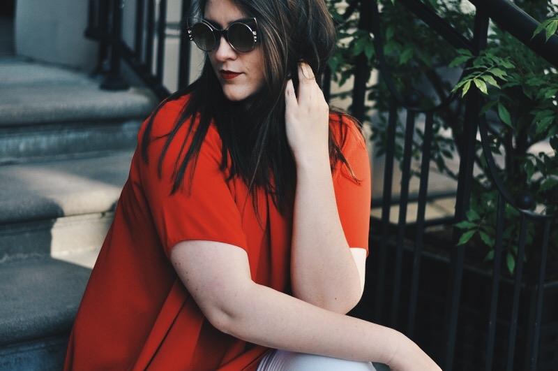 red dress | sarkanā kleita