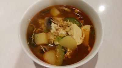 Resep Cara Membuat Masakan Korea Sun-dubu JIggae ( Sup Tahu Lembut )