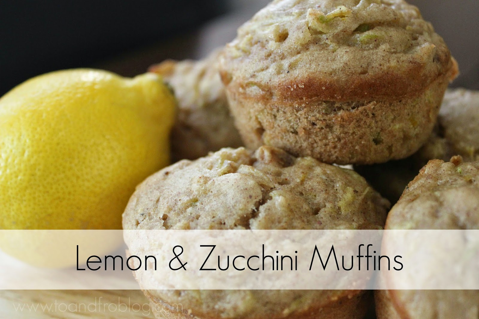 lemon zucchini muffin recipe