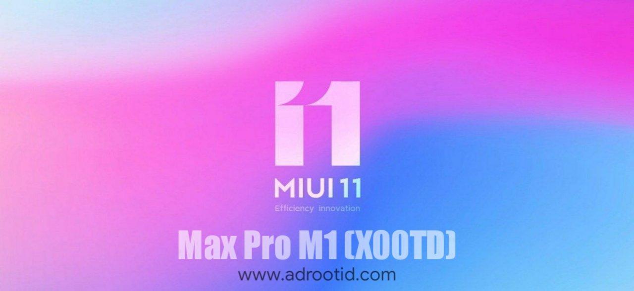 Rom MIUI 11 Max Pro M1 Stable