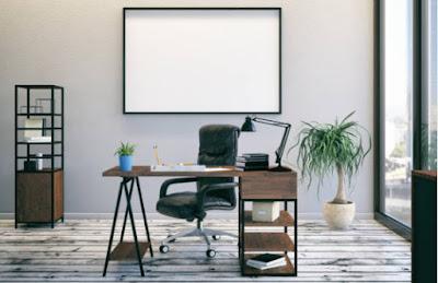 Gambar tata ruang kantor tertutup