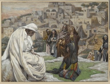 Jesus weeps over Jerusalem - James Tissot
