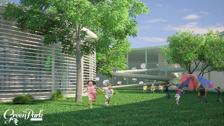 Tiện ích chung cư Việt Hưng Green Park