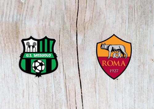 Sassuolo vs Roma Full Match & Highlights 18 May 2019