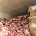 27 toneladas de carne bovina são recuperadas pela Polícia em GO