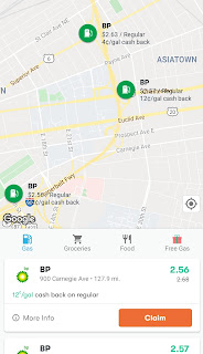 An Android screenshot detailing how easy it is to claim deals in GetUpside
