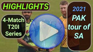 South Africa vs Pakistan T20I Series 2021
