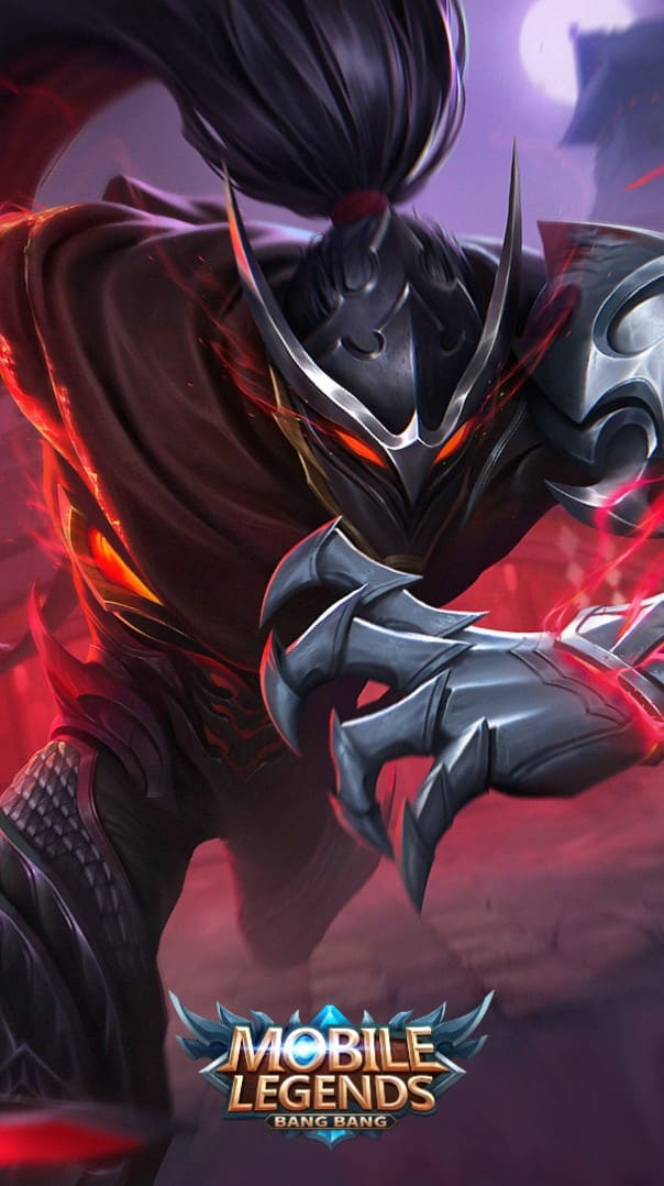 Wallpaper Hayabusa Shadow of Obscurity Skin Mobile Legends HD for Android and iOS