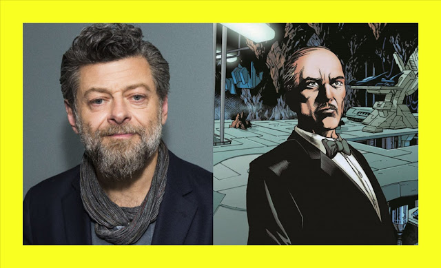 "💣 MATT REEVES confirmó a ANDY SERKIS como el nuevo ALFRED en ""THE BATMAN"""