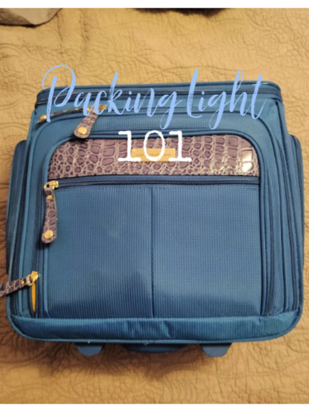 tips on packing light
