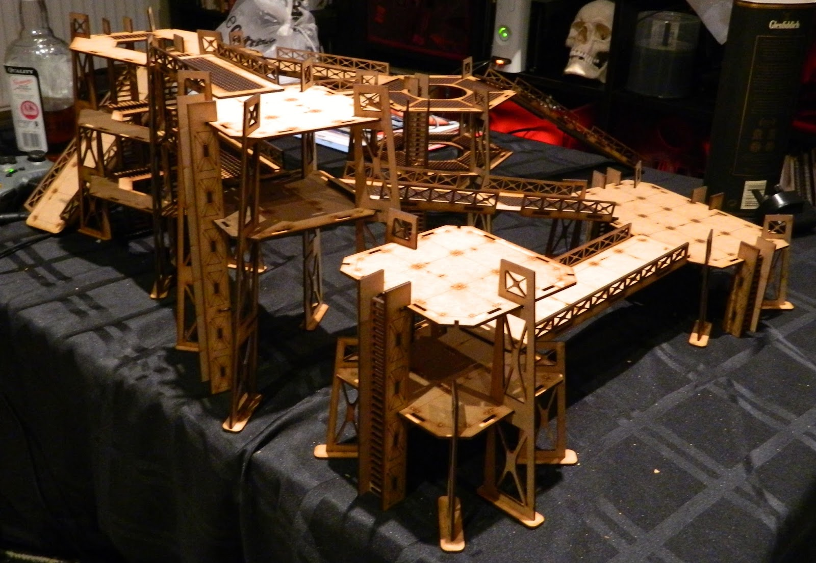 Conclave of Har: Wargaming Tournaments Industrial Terrain