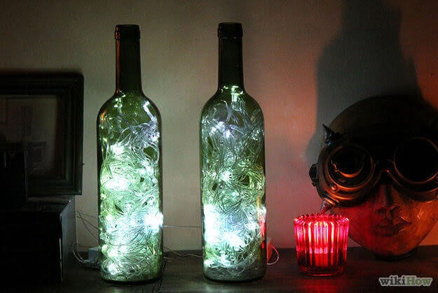 Membuat Botol Bekas Bersinar dalam gelap