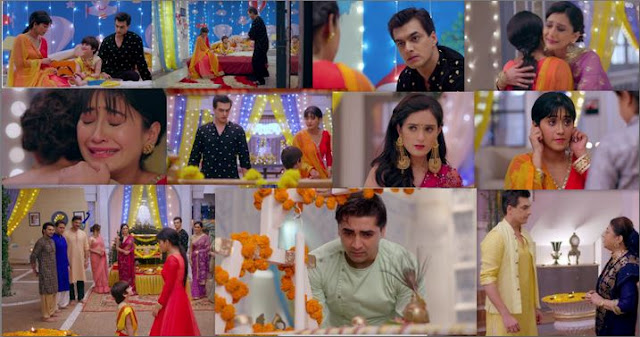 "Yeh Rishta Kya Kehlata Hai Episode 29th August 2019 Written Update "" Naira-Kartik Come Closer Because of Kairav ""."
