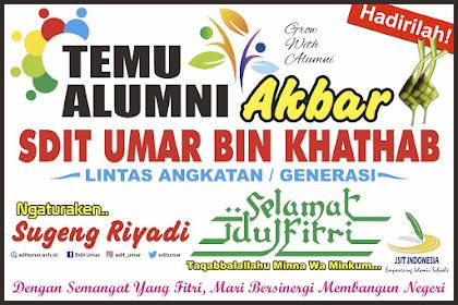 Temu Alumni Akbar SDIT Umar Bin Khathab Bakal Digelar