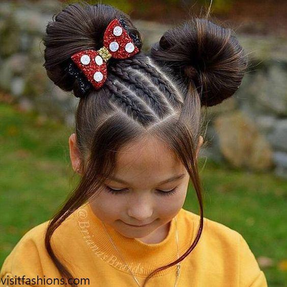 تسريحات الشعر للبنات الصغار