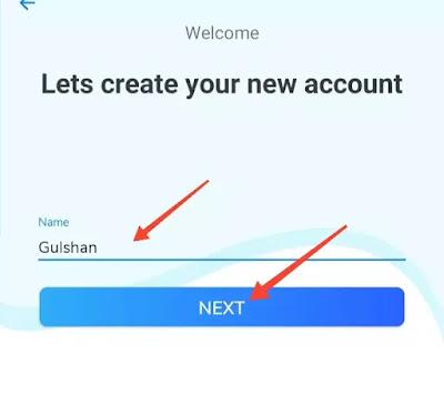 sandes app enter your name