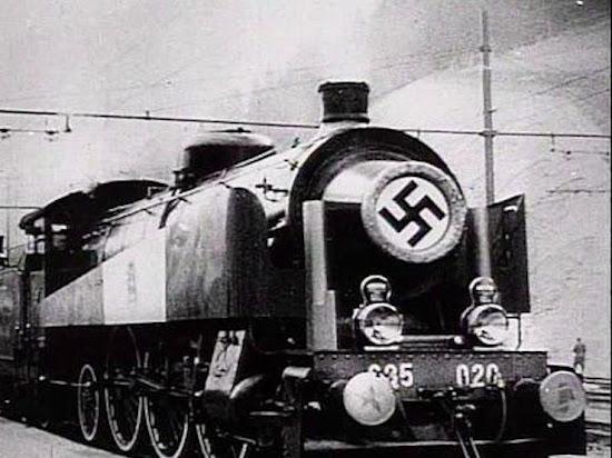 Nazi logistics plunder crime war restitution Germany Schenker