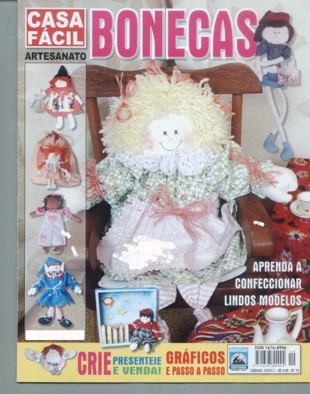Bonecas Artesanato Revista