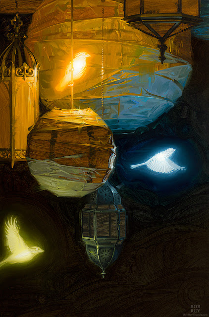 Bioluminescence by Rob Rey - robreyfineart.com