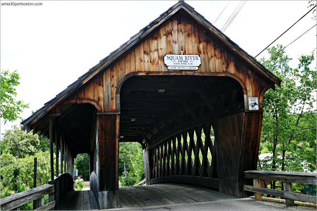 Squam River Covered Bridge en Ashland, NH