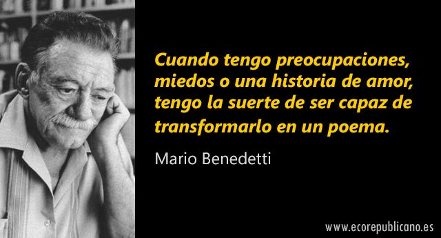 14 grandes frases de Mario Benedetti