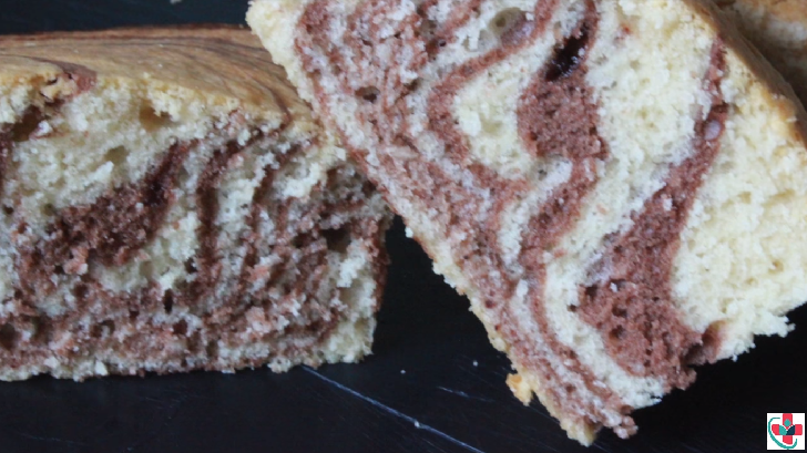 Chocolate Vanilla Marble Cake Recipe
