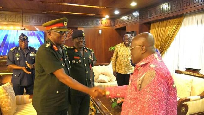 UN Secretary General Consoles President Akufo-Addo, Ghana On Death Of Maj. Gen. Vib-Sanziri