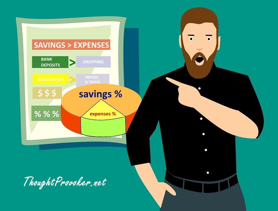 Expenses > Savings
