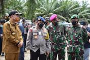 Kapolda Sulteng Bersama Danrem 132 Tadulako Tinjau Pelaksanaan PSU Pilkada di Morowali Utara