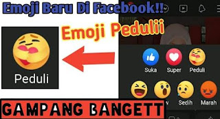 Cara Memunculkan Emote Peduli di Facebook