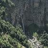 Водопад Мучуг издалека