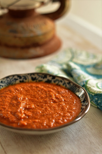 Goan red coconut chutney