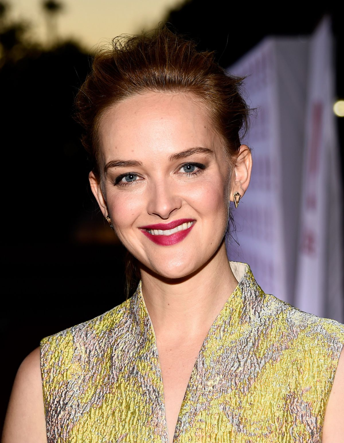 Money actress Jess Weixler at Sister Cities Los Angeles Premiere