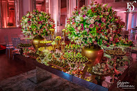 festa de formatura tripla em medicina pela ulbra com decoração delicada e moderna em rosa realizada no salão dos espelhos do clube do comércio em porto alegre com cerimonial da equipe fernanda dutra eventos
