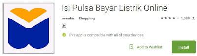 Aplikasi Pembayaran dan Beli Pulsa Online Android 2